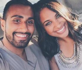 Lisa & Raj's photo