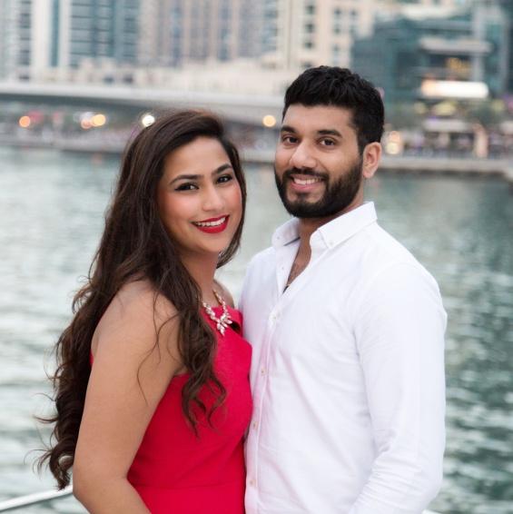 Meera & Keval's photo